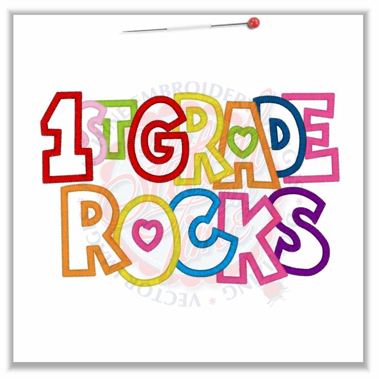 5th Grade Rocks Banner 4842 sayings : 1st grade rocks