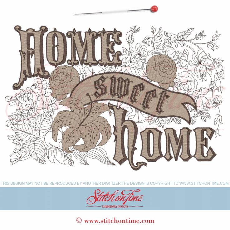 Home Sweet Home Vintage stitchontime